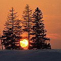 Canadian Sunset by Jim  Wallace