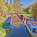 Canal Barges by Paul Gulliver