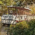 Canal Boat by Sara Hudock