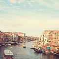 Canal Grande In Venezia by Matteo Colombo