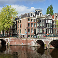 Canal Houses In Amsterdam by Artur Bogacki