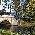Canal Near Freedom Monument Riga by Jason O Watson