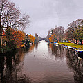 Canal Of Amsterdam by Elvis Vaughn