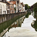 Canal Reflection  by Phyllis Taylor