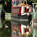 Canal Reflections Cropped by Erich Kirchubel