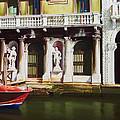 Canal Scene  Venice Italy by Gary  Hernandez
