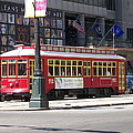 Canal Street Streetcar by Kevin Croitz