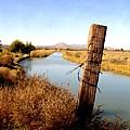 Canal View  Mesilla by Kurt Van Wagner