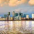 Canary Wharf - London - Uk by Luciano Mortula