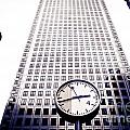 Canary Wharf Clock by Lana Enderle