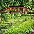 Canal Bridge by Debra Fedchin