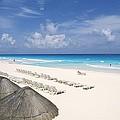 Cancun Beach by Bill Bachmann - Printscapes