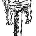 Candelabrum Sketch by J M Lister