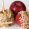 Candied Caramel And Regular Red Apple by James BO  Insogna