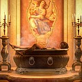Candle Lit Bath by Kaylee Mason