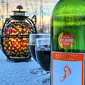 Candlelight And Wine Beach Style by JC Findley