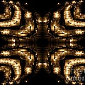 Candles Abstract 1 by Rose Santuci-Sofranko