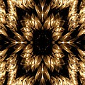 Candles Abstract 5 by Rose Santuci-Sofranko