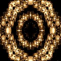 Candles Abstract 6 by Rose Santuci-Sofranko