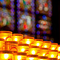 Candles In Notre Dame by Anthony Doudt