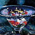 Candles In Water by Candace Lovely