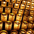 Candles Of Cathedrale Notre Dame De Paris by Cleaster Cotton