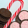 Candy Cane -  Cookies - Sweets by Barbara Griffin