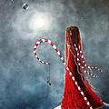 Candy Cane Fairy By Shawna Erback by Shawna Erback