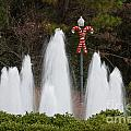 Candy Cane Water Fountain by Dale Powell
