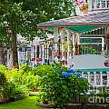 Candy Cottages In Oak Bluffs by Susan Cole Kelly