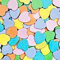 Candy Hearts by Joe Belanger