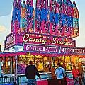 Candy Shoppe Line Art by Steve Harrington