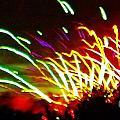 Candy Stripe Fireworks by Brigitte Emme