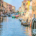 Cannareggio Canal Venice by Liz Leyden