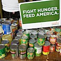 Canned Goods For Food Banks by Jim West