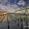 Cannery Pier Hotel And Astoria Bridge by Mark Kiver