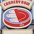 Cannery Row Directory At The Monterey Bay Aquarium California 5d25020 by Wingsdomain Art and Photography