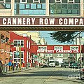 Cannery Row Monterey California by Artist and Photographer Laura Wrede