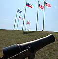 Cannon At Fort Sumter by Cathie Crow