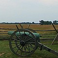 Cannon At Gettysburg by Eric  Schiabor