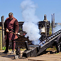Cannon Firing At Fountain Of Youth Fl by Christine Till