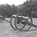Cannons On Manassas Battlefield by Christiane Schulze Art And Photography