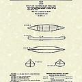 Canoe 1963 Patent Art by Prior Art Design