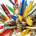 Canoe Art II by Doug Sturgess