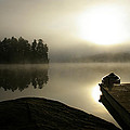 Canoe At Sunrise by Gerald Murray Photography