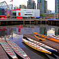 Canoe Club And Telus World Of Science In Vancouver by Ben and Raisa Gertsberg