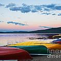 Canoe Colourama by Barbara McMahon