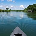Canoe Ride by Melinda Fawver