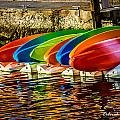 Canoes by Deborah Hughes