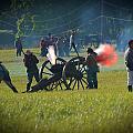 Canon Fire Reenactment by Scott Shaw